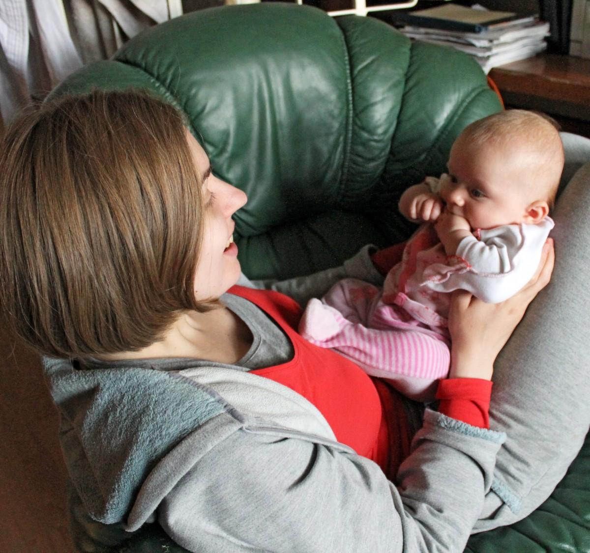 Schon drei Monate mit Julia