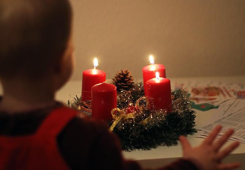 Passt auf eure Kerzen auf!