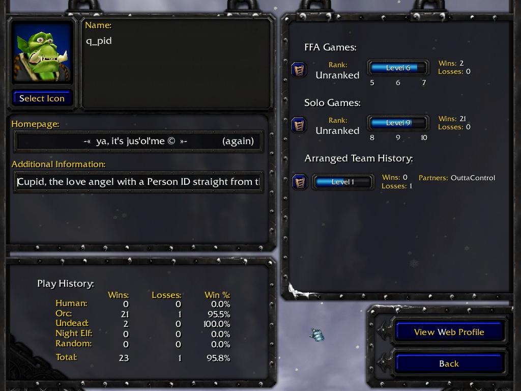 Warcraft 3 Account: q_pid
