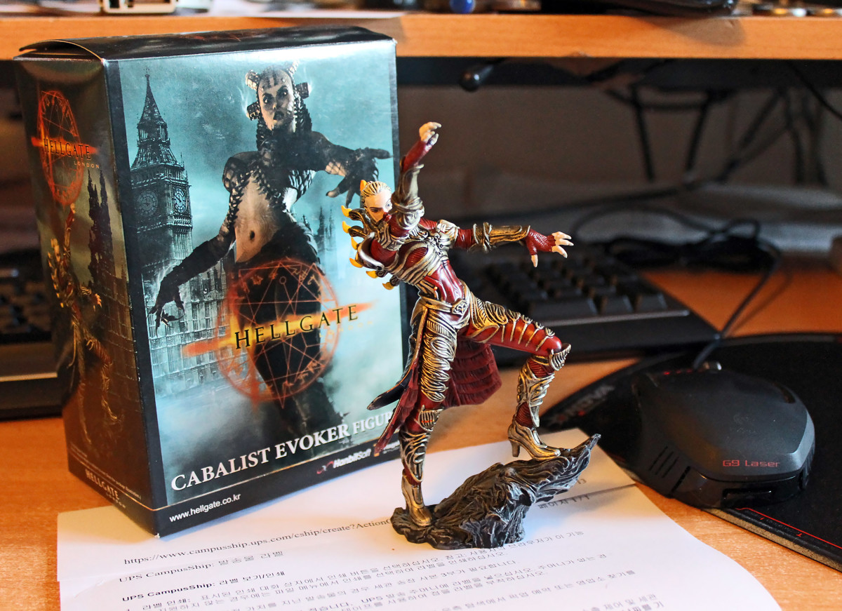 Hellgate Relaunch: Won the Cabalist Evoker Statue